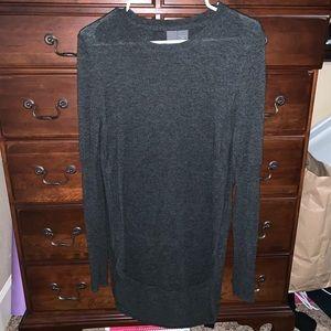 Francesca's Gray Sweater